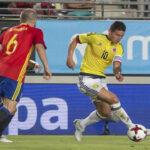 Colombia vs. España: En vibrante partido amistoso empataron 2-2