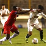 Universitario suma dos fechas sin ganaral igualar 1-1 con Juan Aurich