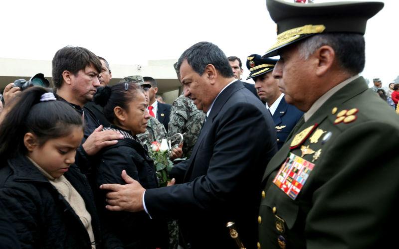 VIDEO Cuatro militares mueren ahogados en Perú