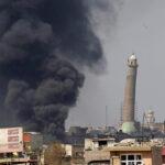Irak: Difunden video del momento en que el Estado Islámico vuela mezquita
