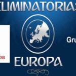 Mundial Rusia 2018/Zona Europea: Resultados y clasificación del Grupo E