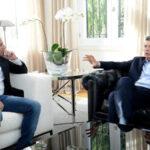 Jorge Sampaoli se reúne en la residencia presidencial con Mauricio Macri
