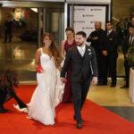 """""""La boda del año"""": Messi se casó en su Rosario natal ante 260 invitados"""