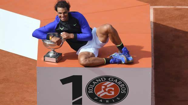 Nadal se vuelve campeón por décima vez del Roland Garros