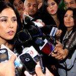 Nadine niega aportes de Odebrecht y OAS en campaña electoral