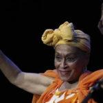 Omara Portuondo vuelve para ofrecer un recital en el María Angola