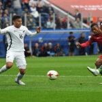 Copa Confederaciones: Portugal apabulla por 4-0 a Nueva Zelanda