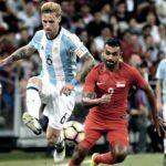Argentina cierra su mini gira en Oceanía y Asia con goleada a Singapur por 6-0