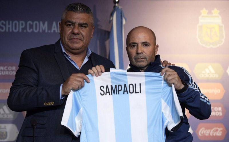 Sampaoli destaca la sociedad Messi-Dybala en Argentina