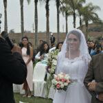 Karateca Sandra Salazar se une en matrimonio con Josué De la Cruz (Imágenes)