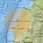 Sismo 6,3 grados de magnitud remeció las costas de Ecuador