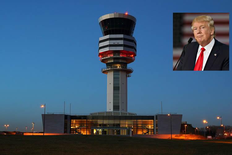 Trump propone privatizar el control del tráfico aéreo