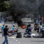 Venezuela: Dos militares heridos de bala durante protesta en Caracas