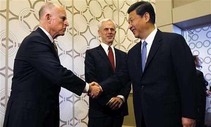 Presidente chino pide un mayor protagonismo de California en la cooperación China