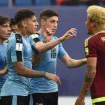 Mundial Sub 20: FIFA abre expediente por gresca entre venezolanos y uruguayos