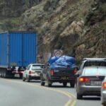 Por feriado largo restringen paso de vehículos pesados en Carretera Central
