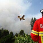 Portugal: Desmienten caída de un avión de los que combaten el incendio