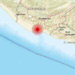 Sismo en Guatemala tuvo una magnitud 6.7 en la escala de Richter