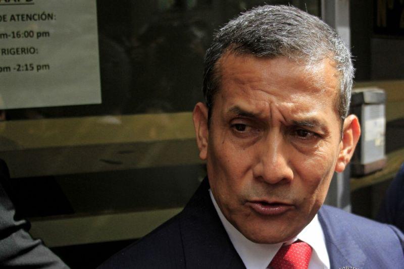 Humala no pudo rendir su testimonio en la Fiscalía — Caso Odebrecht