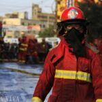 Alertan gases cancerígenos producidos por incendio en galería (FOTOS)