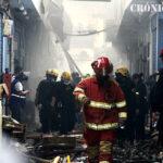 Mesa Redonda: Mira las fotos del incendio en galería La Cochera