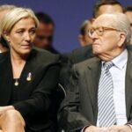 Jean-Marie Le Pen pide la dimisión de su hija Marine del FN