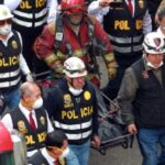 """Fiscales y peritos caminaron por """"cerro"""" de fluorescentes (VIDEO)"""