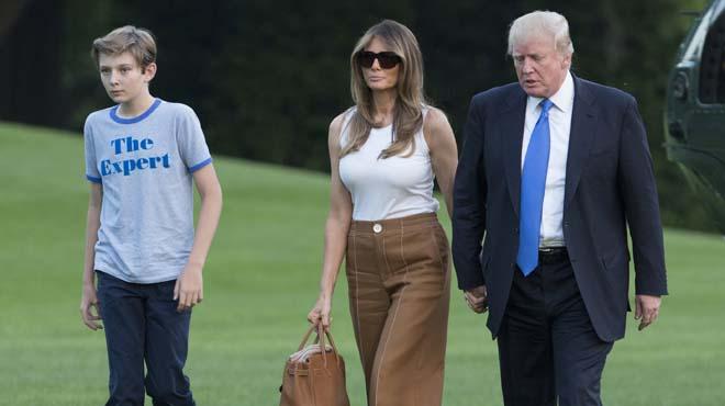 Y finalmente, toda la familia de Trump está en la Casa Blanca