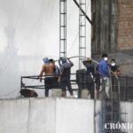 Mesa Redonda: Comerciantes se enfrentaron a policías (FOTOS-VIDEO)