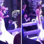Argentina: En fastuosa ceremonia se casaronLionel Messi y Antonela Roccuzzo (VIDEO)