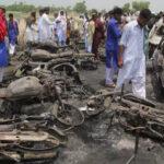 Pakistán: Explosión de camión cisterna deja al menos 174 muertos (VIDEO)