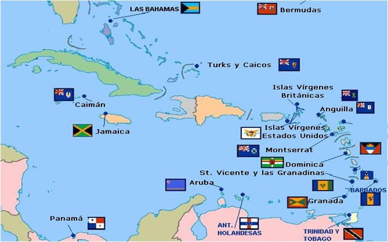 Latinoamérica, la región con mayor riqueza en paraísos fiscales