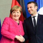 Macron y Merkel comparecerán juntos para escenificar sintonía franco-alemana