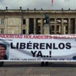 Colombia: ELN libera a dos periodistas holandeses que mantenía secuestrados