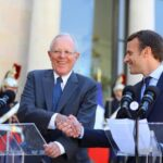 Kuczynski y Macron hablaron sobre cambio climático y democracia