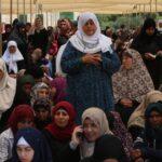 Miles de palestinos acuden al rezo del primer viernes de Ramadán en Al Aqsa