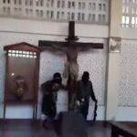 Estado Islámico destruye e incendia una iglesia católica en Filipinas
