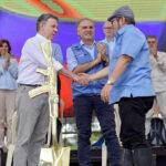 Presidente Santos: Con dejación de armas la paz es real eirreversible (VIDEO)