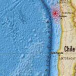 Chile: Sismo de magnitud 5.0 Richter sacude Tarapacá y Antofagasta