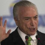 Brasil: Temer rechaza interrogatorio escrito de Policía sobre corrupción