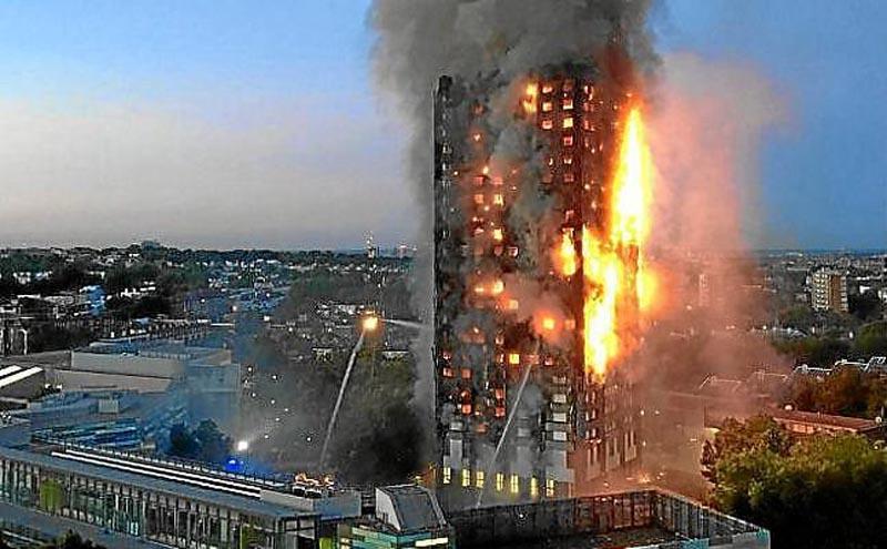 Fallecidos por incendio en Grenfell Tower podrían ser unos 60