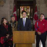 Trudeau: La relación más importante de Canadá es con sus indígenas