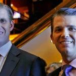 EEUU: Hijos de presidente Trump dicen no tener tratos ni proyectos con Rusia