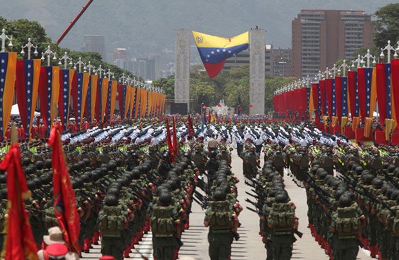 Padrino López confirma desfile oficial el 5-J en los Próceres — VENEZUELA