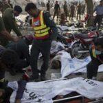 Al menos 25 muertos y 40 heridos en un atentado en el este de Pakistán