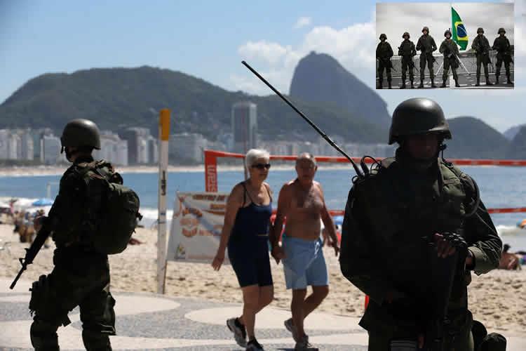 Brasil desplegará miles de militares por ola de violencia