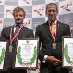 Alexander Zimmermann y Eduardo Linares reciben los Laureles Deportivos