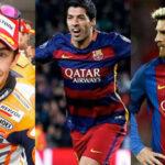 Messi, Suárez, Márquez en campaña solidaria contra el cáncer infantil