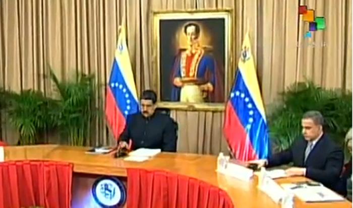 Presidente Maduro activó Consejo de Defensa de la Nación