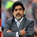 Maradona en Rusia: felicita a Messi por su boda y maltrata a Sampaoli